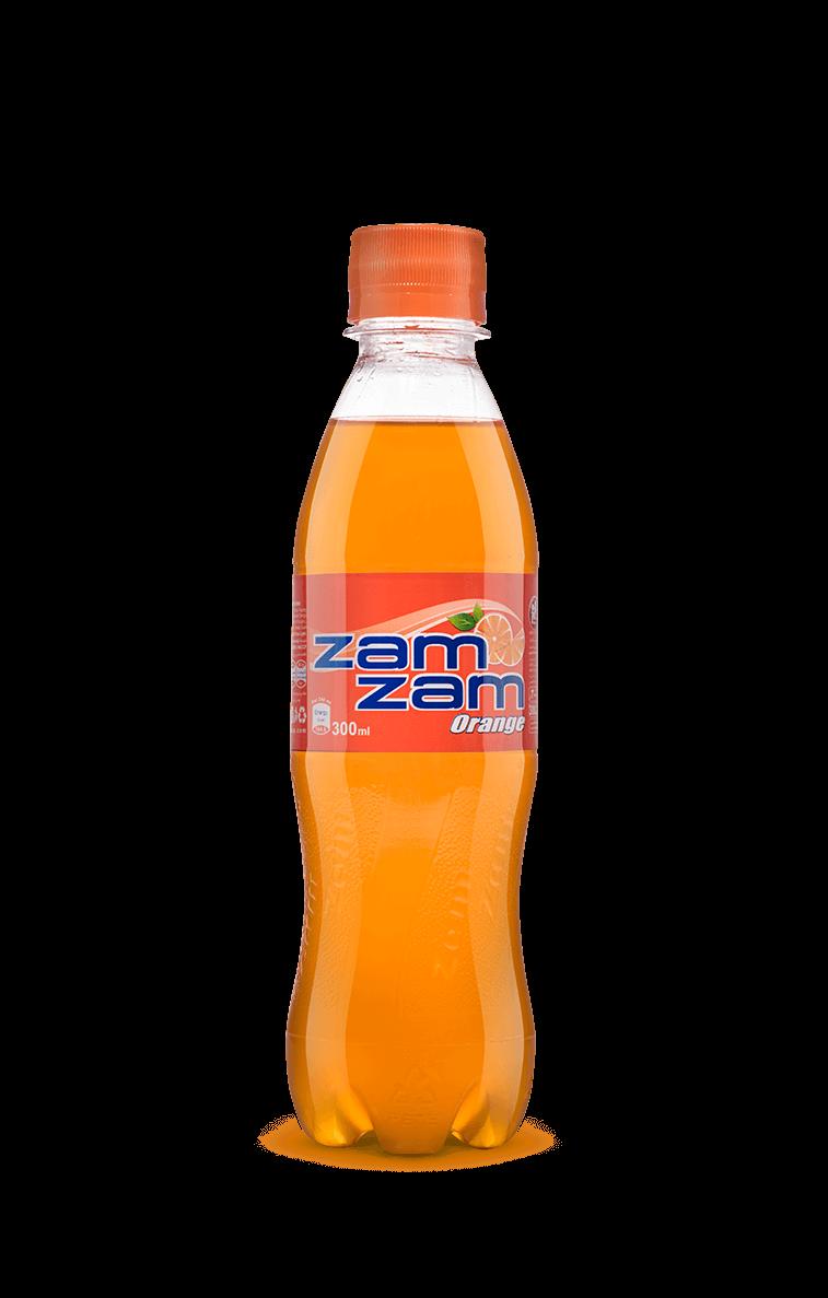 نوشابه بطری کوچک طعم پرتقالی