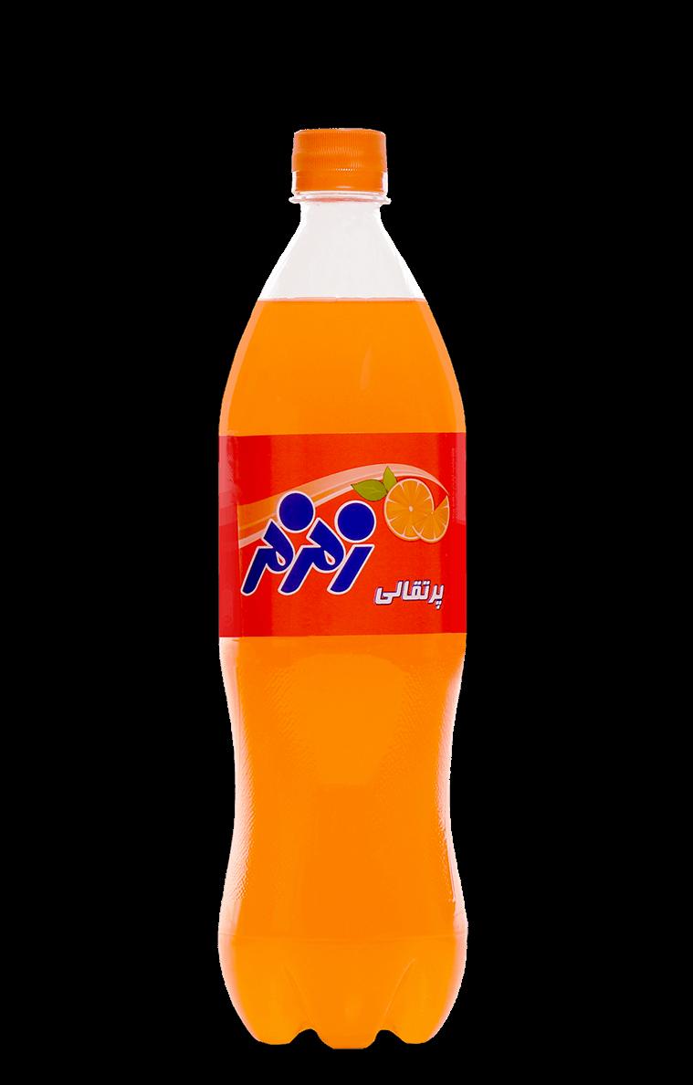 نوشابه 1 لیتری طعم پرتقالی